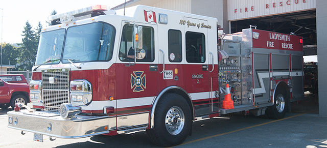 Spartan Chassis fire truck