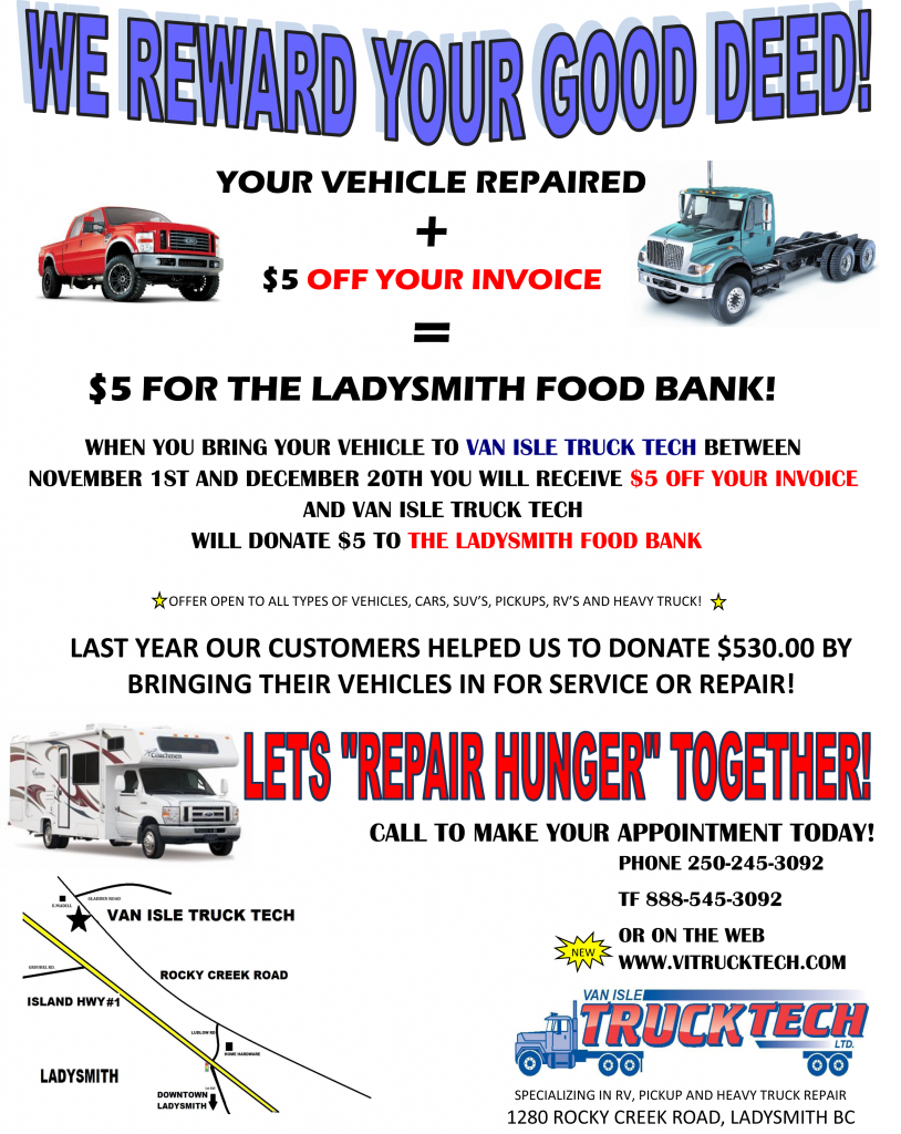 REPAIR HUNGER FLYER 2012